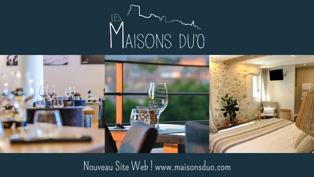 Nouveau site web www.maisonsduo.com